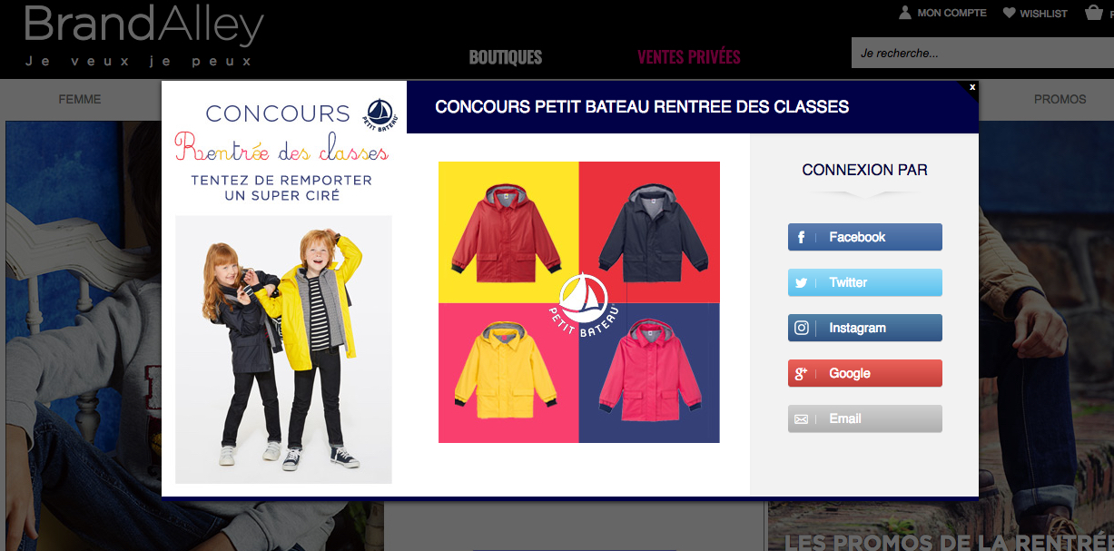 partenariat marketing brandalley petit bateau