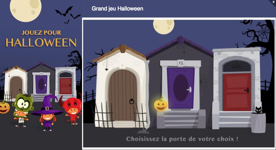 instant gagnant Halloween