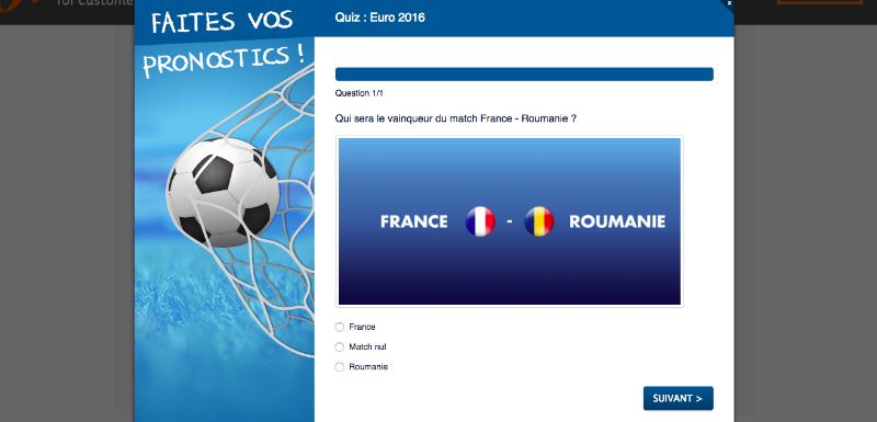 operation marketing quizz euro 2016
