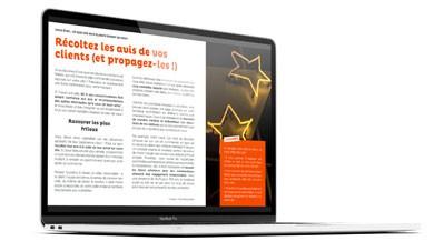 récoltez des avis clients livre blanc marketing recommandation
