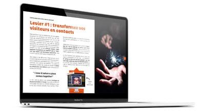 transformez vos visiteurs livre blanc acquisition client e-commerce