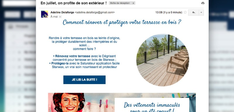 exemple campagne emailing