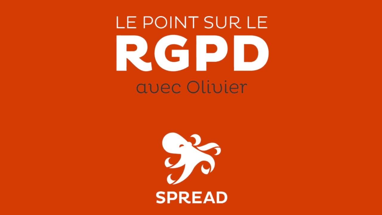 RGPD : épisode 1 - 12 minutes pour comprendre avec Olivier Martineau