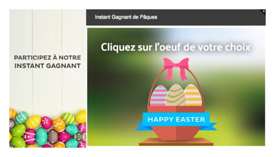 instant gagnant paques
