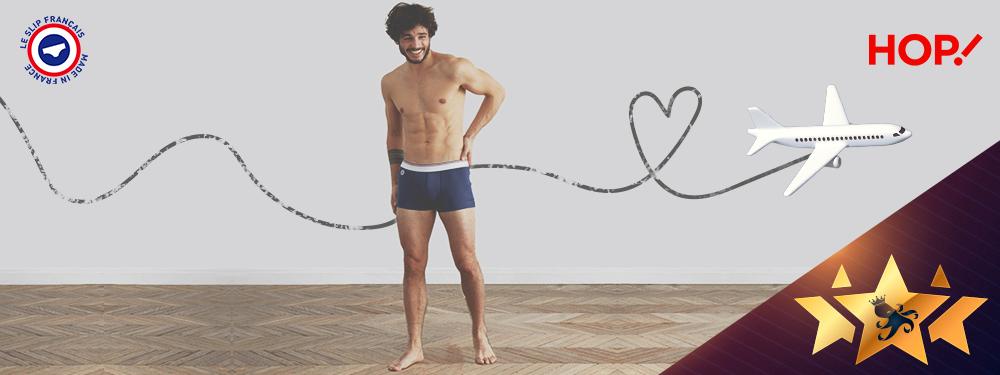 Coup de coeur du mois #19  : le cahier de vacances co-brandé HOP! et Le Slip Français