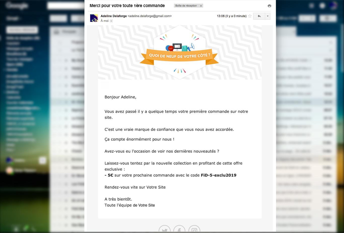 réactivation réachat email marketing automation