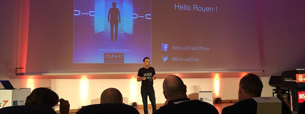 """""""Tous digitalisés"""" : retour sur la keynote inspirante de Manuel Diaz"""