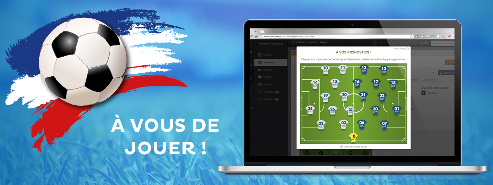 EURO 2016 : scorez auprès de vos clients avec nos opérations marketing dédiées au foot