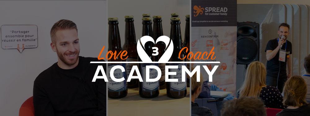 Love Coach Academy Day #3 : partager ensemble pour réussir en famille !