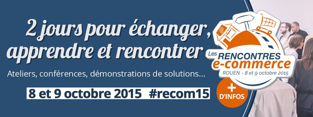 SPREAD participe aux Rencontres E-commerce les 8 et 9 octobre à Rouen