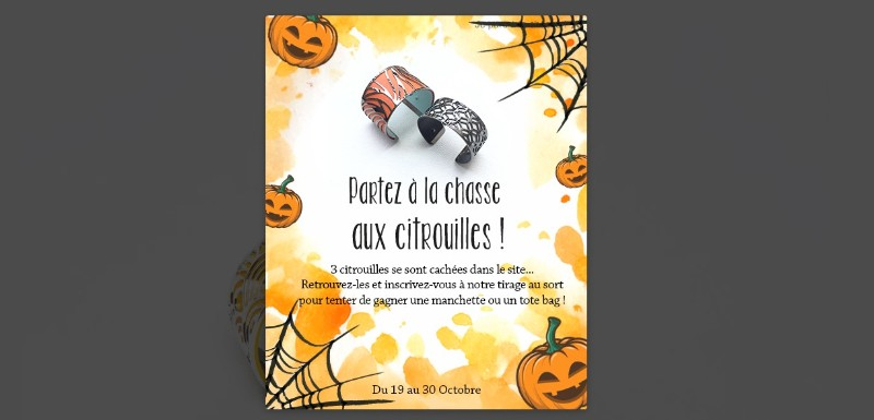 halloween chasse citrouilles georgettes