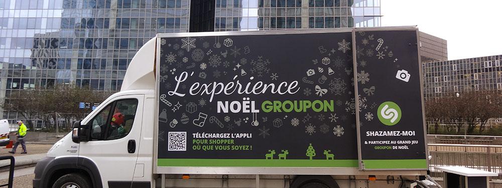 SPREAD et Groupon bousculent le street marketing