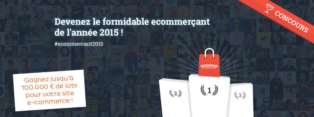 SPREAD est partenaire du concours Formidable E-commerçant 2015