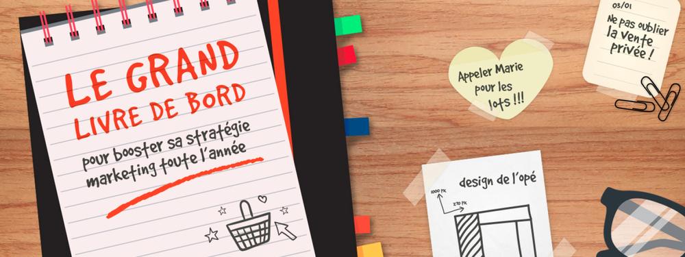 Marketing coach : découvrez le grand livre de bord pour booster votre stratégie marketing toute l'année !