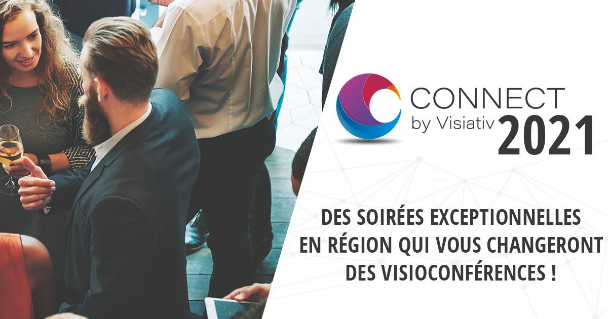 Événement CONNECT 2021 : rencontre avec le réseau Visiativ
