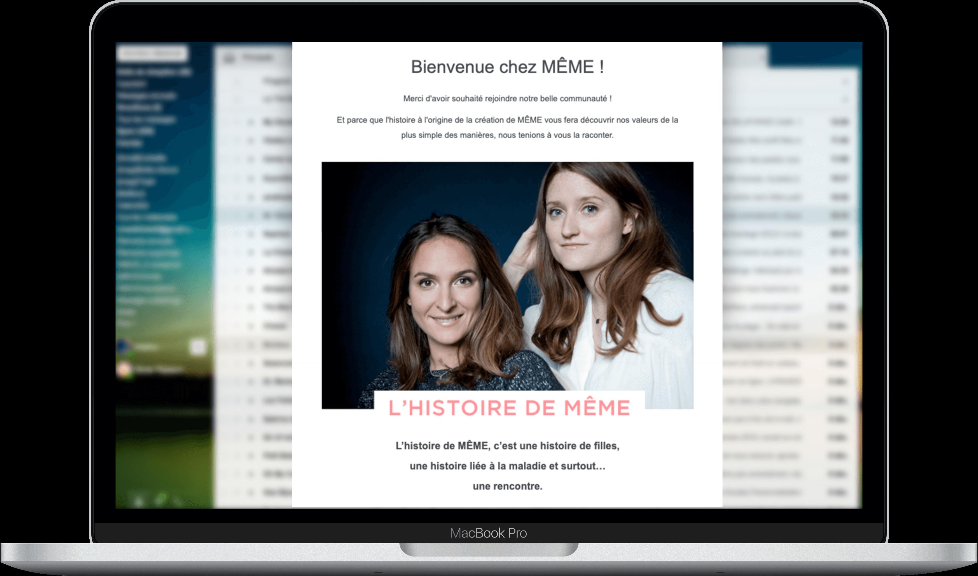 Welcome mail par MÊME