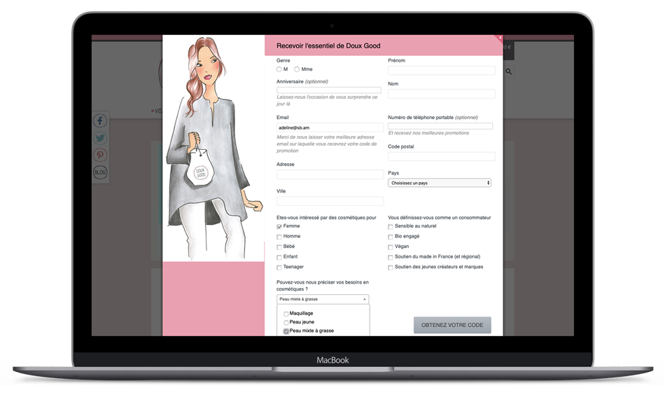 crm marketing qualification base client