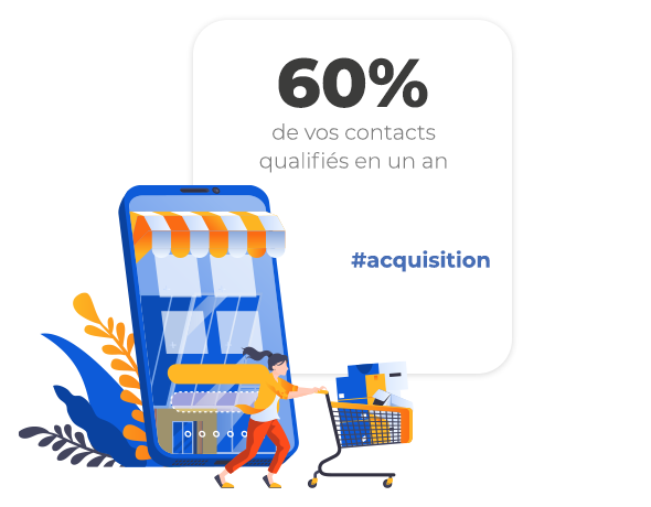 logiciel marketing CRM SPREAD acquisition client