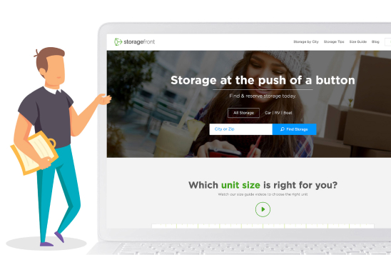 Storage Front Homepage image