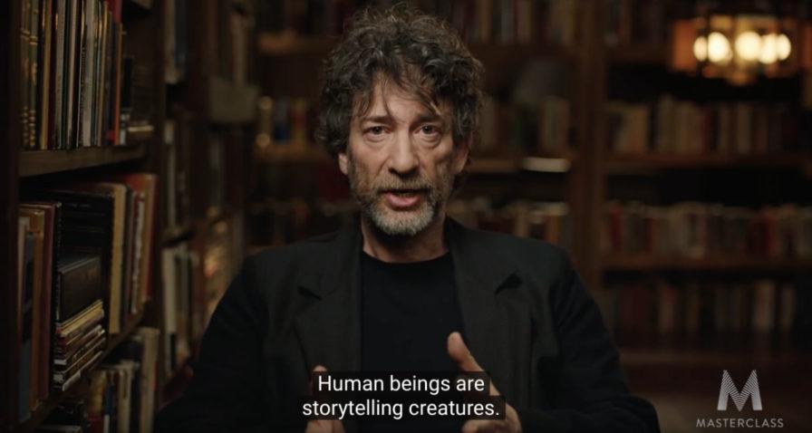Neil Gaiman sobre el storytelling
