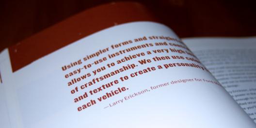 Interior del libro Handcrafted CSS