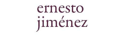 Ernesto Jiménez en Garamond