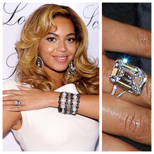 Beyonce Emerald Cut Diamond