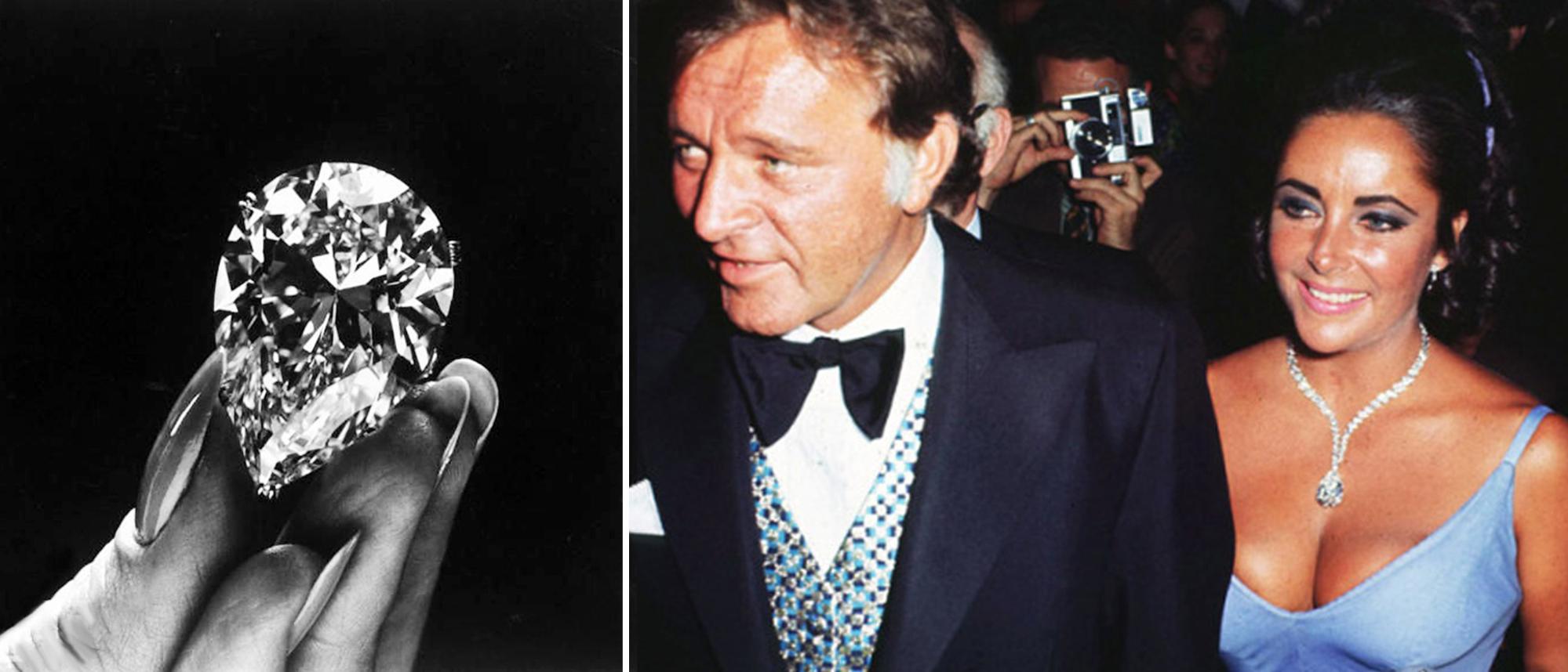Richard Burton-Elizabeth Taylor diamond