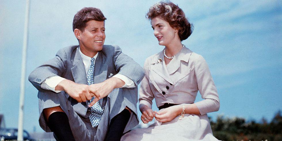 Journalist Jackie Bouvier Met Congressman John F. Kennedy