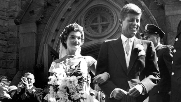 Jackie Kennedy Wedding in Newport Rhode Island.jpg