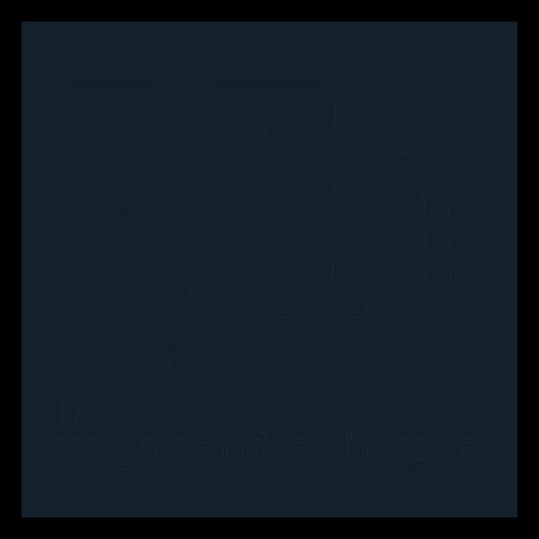 Vagabond House Logo Dark Blue