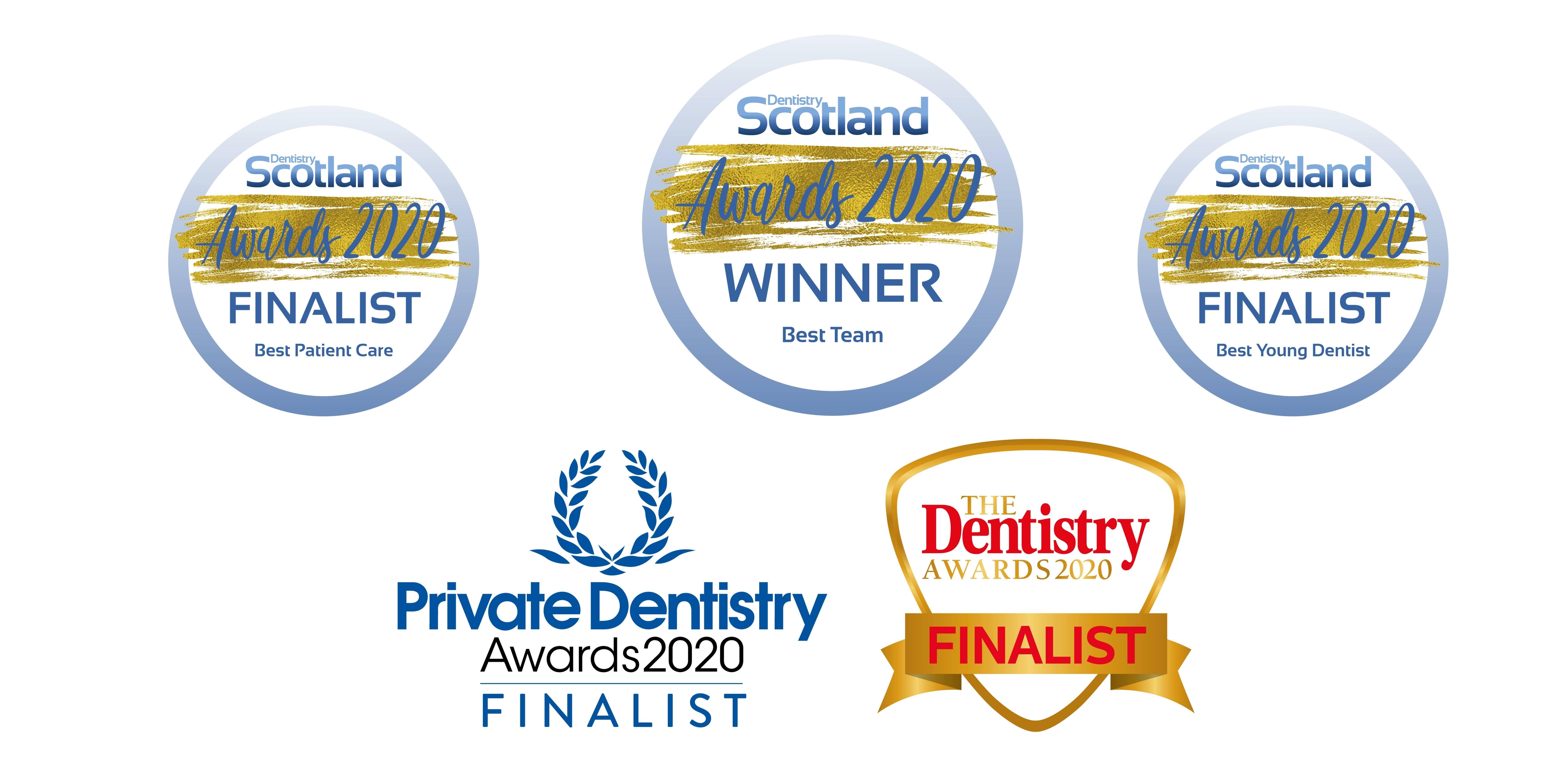 Award winning dentists