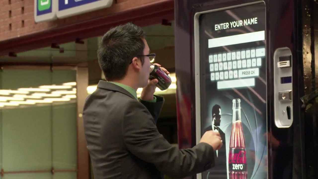 Coke Zero - Unlock the 007