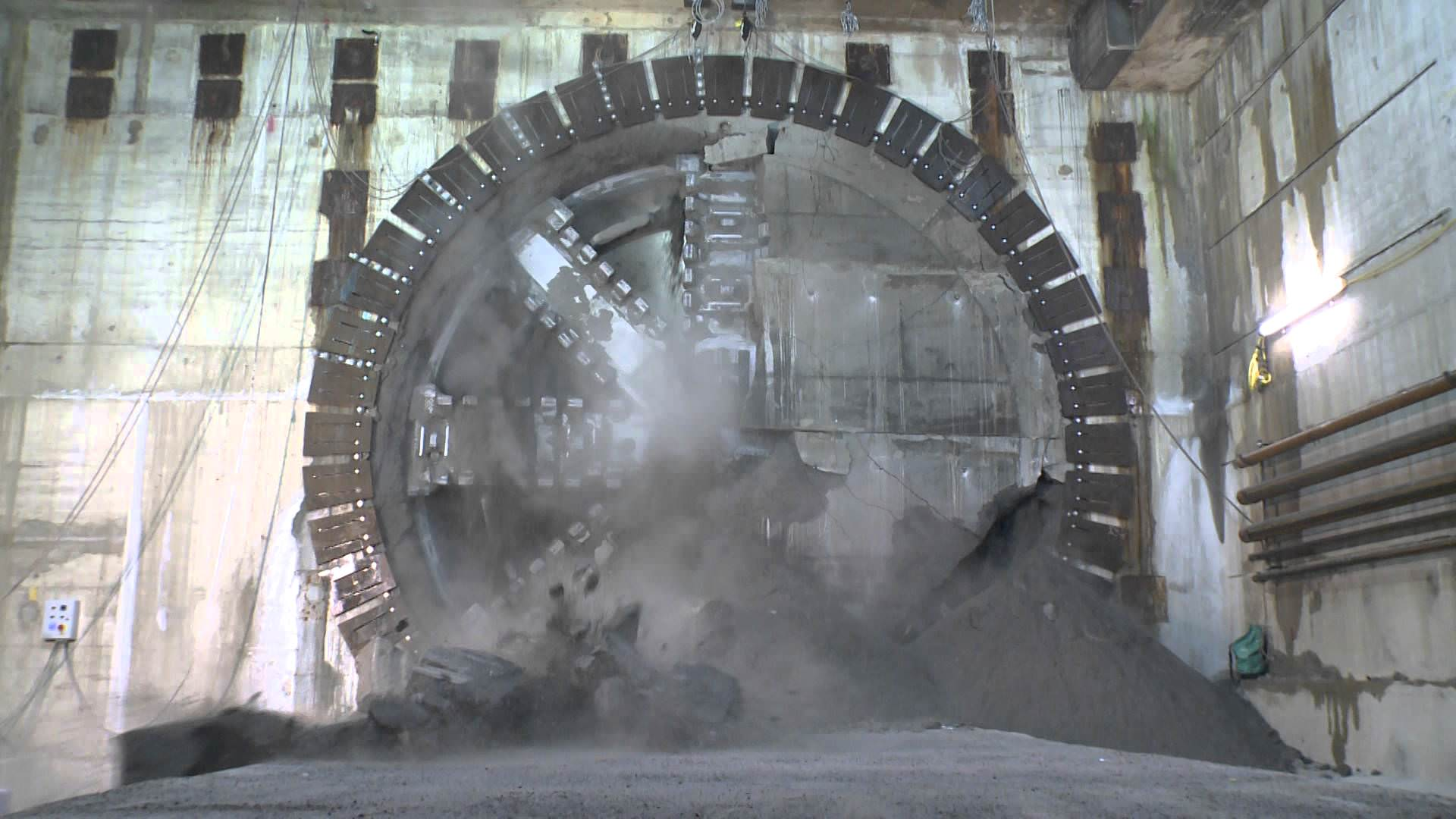 Crossrail Tunnelling Tour