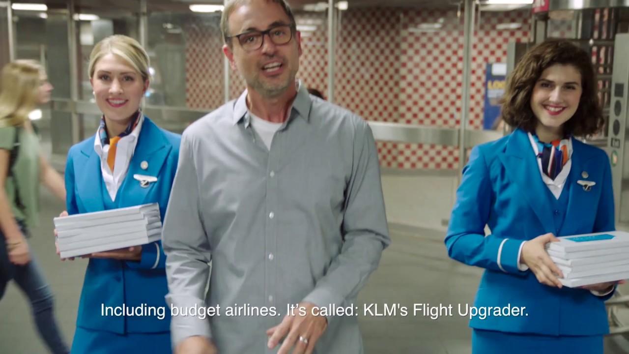 KLM Flight Upgrader