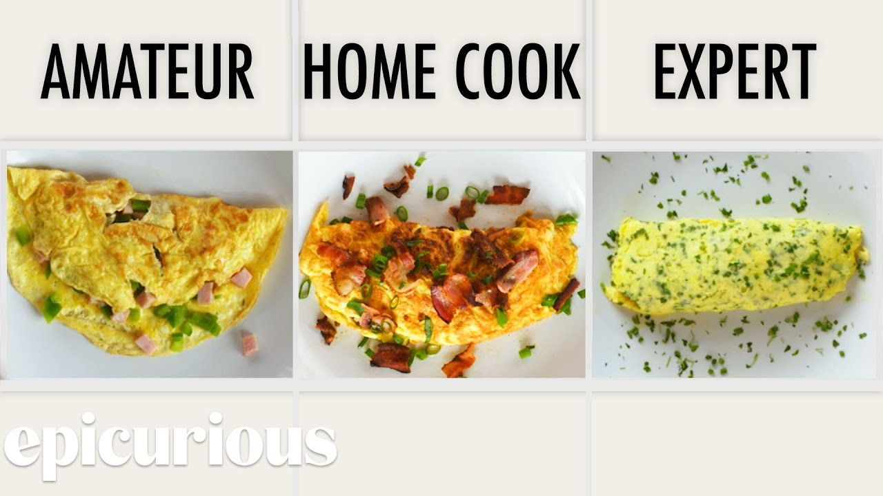4 Levels of Omelets