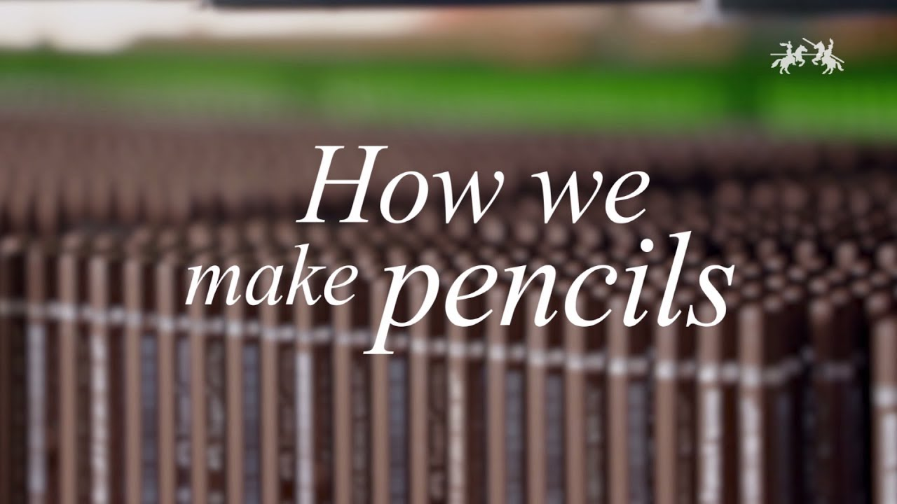 How We Make Pencils