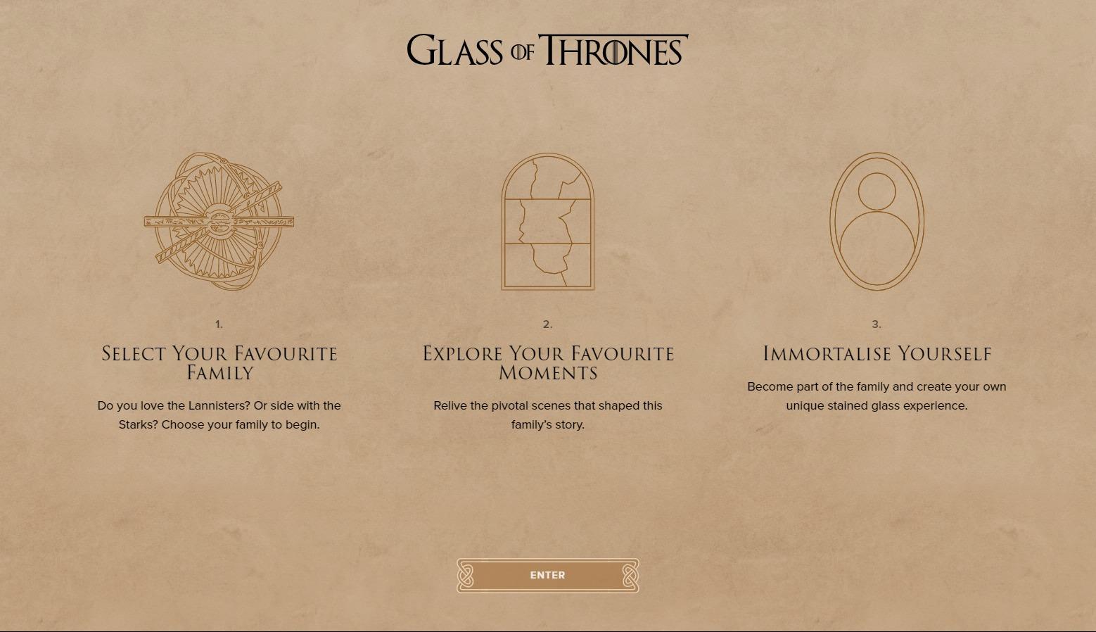 Glass of Thrones