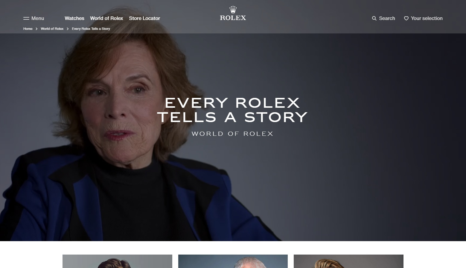 Every Rolex Tells a Story