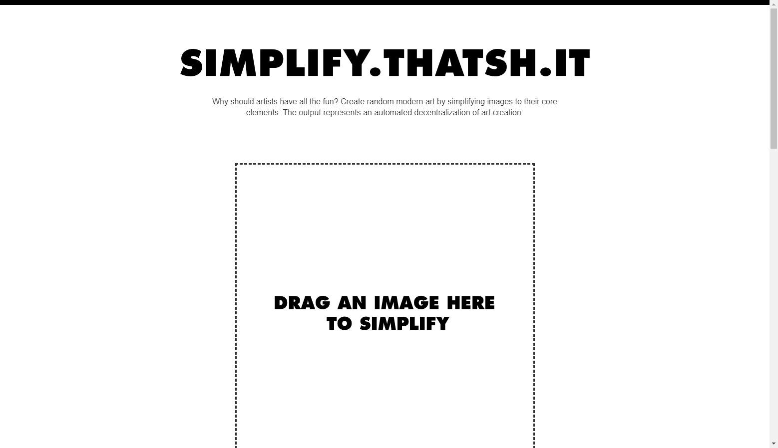 Simplify That Shit