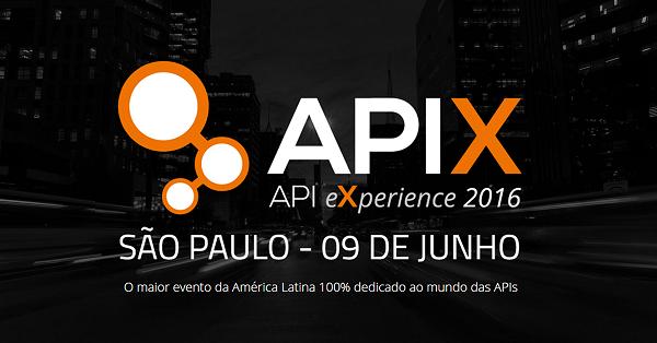 Vem aí o APIX 2016! Garanta sua vaga
