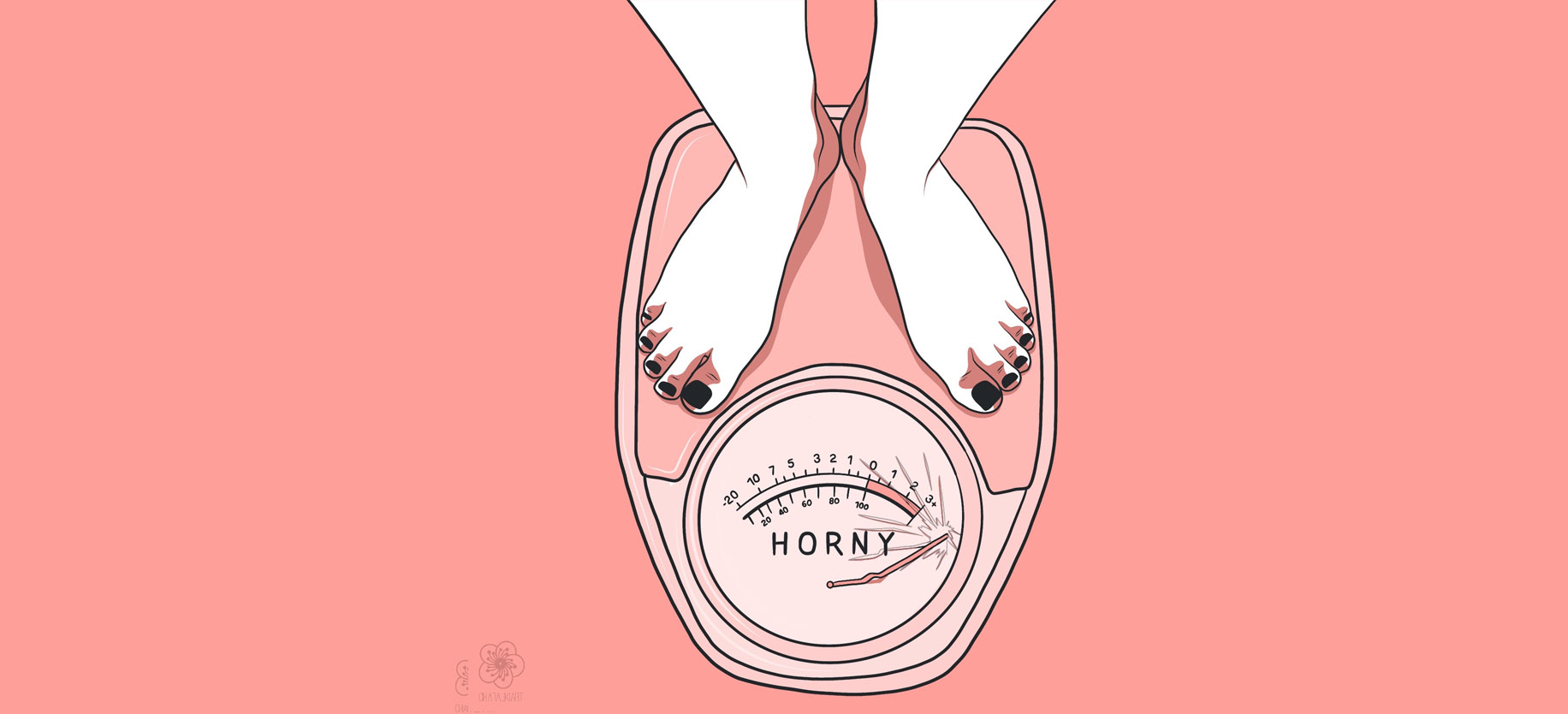 horny artwork by chiara liki