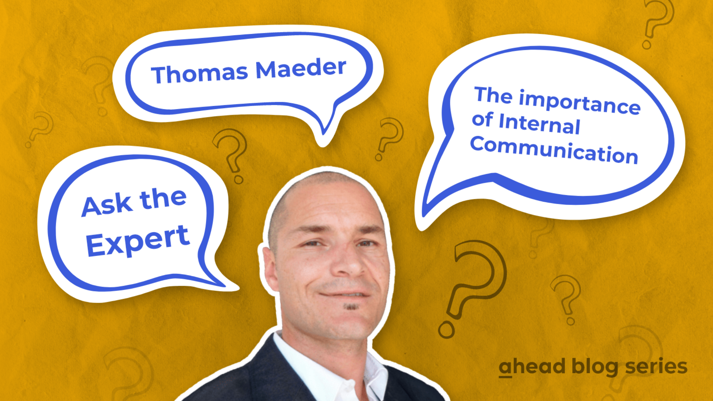 Ask the Expert - Thomas Maeder