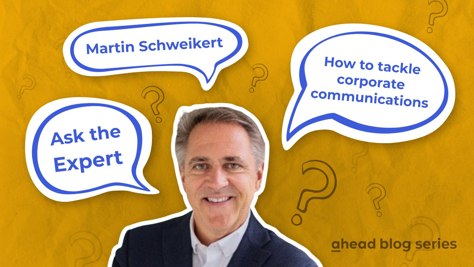 Ask the Expert - Martin Schweikert