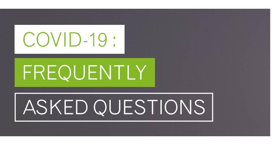 Covid-19 – FAQs