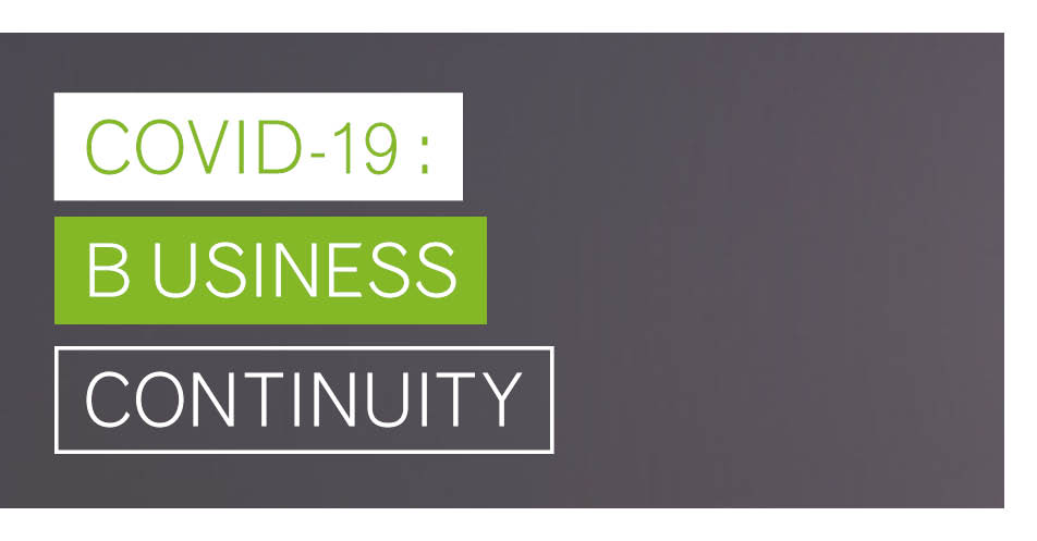 Business Continuity during COVID-19