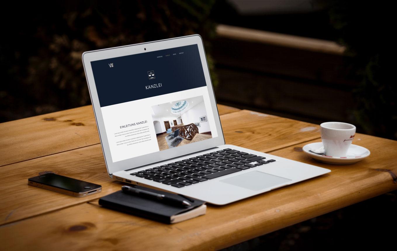 Webdesign für Anwaltskanzlei Zürich