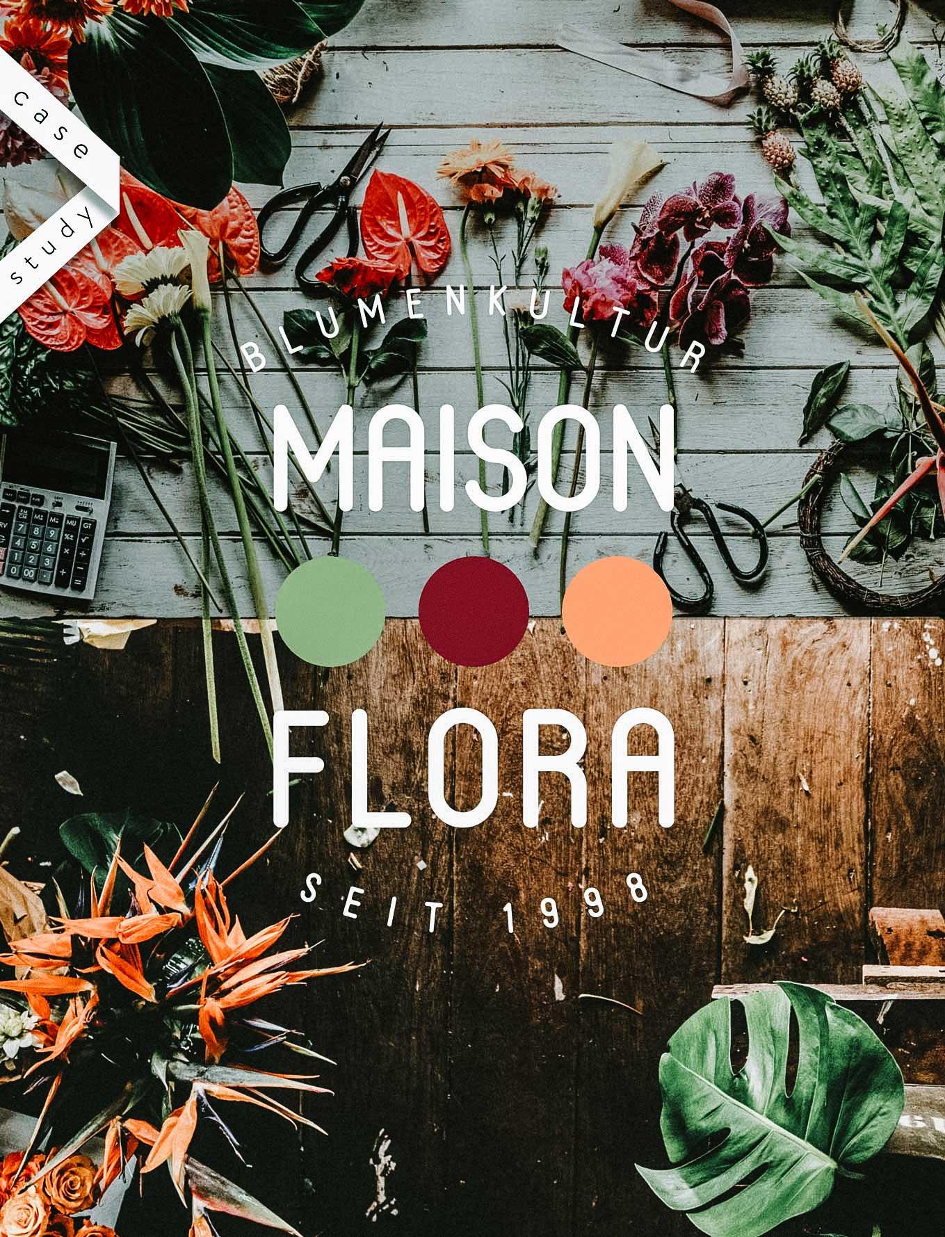 Logo Design Florist Shop Switzerland