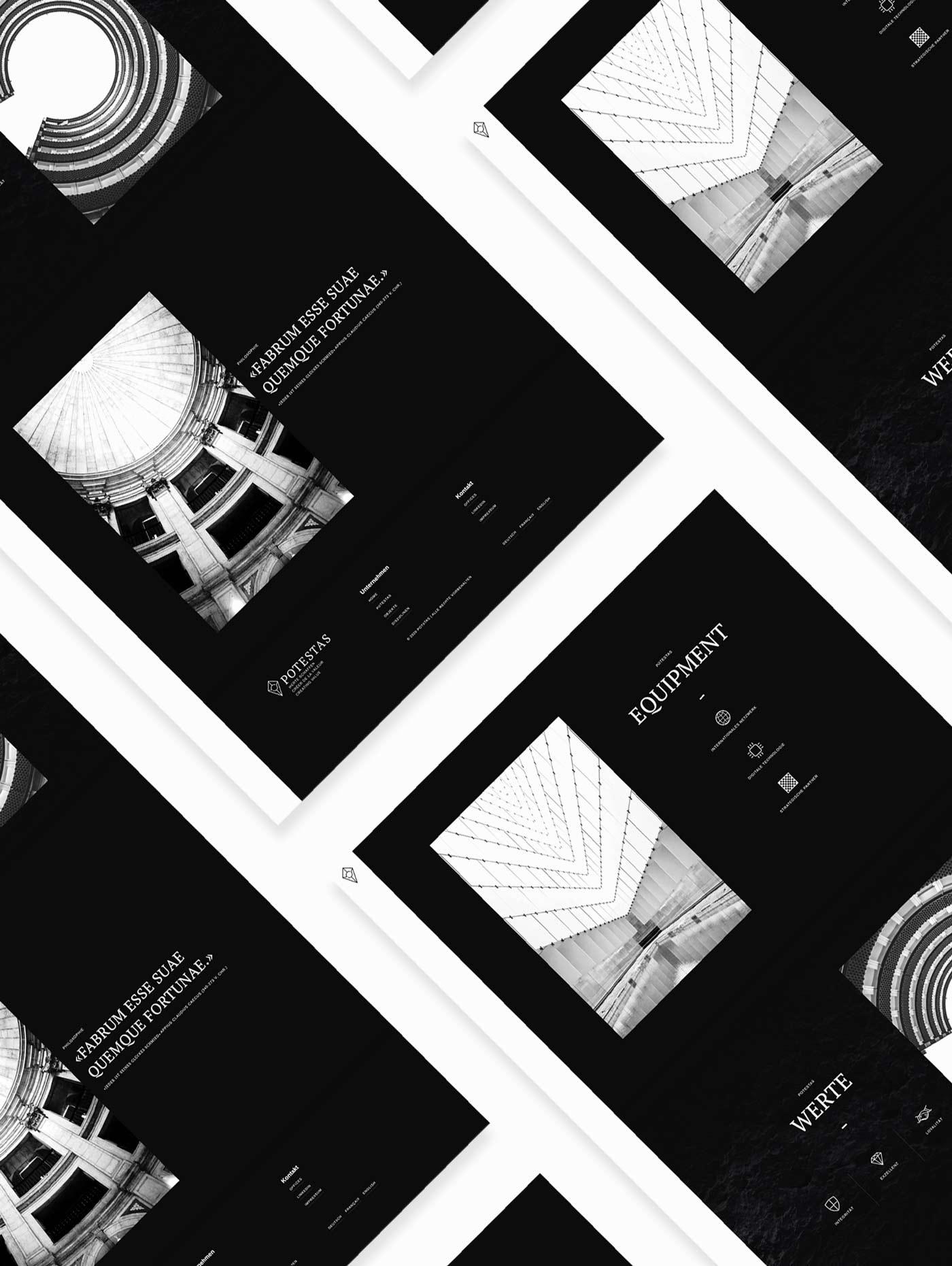 Website design Real estate company Switzerland