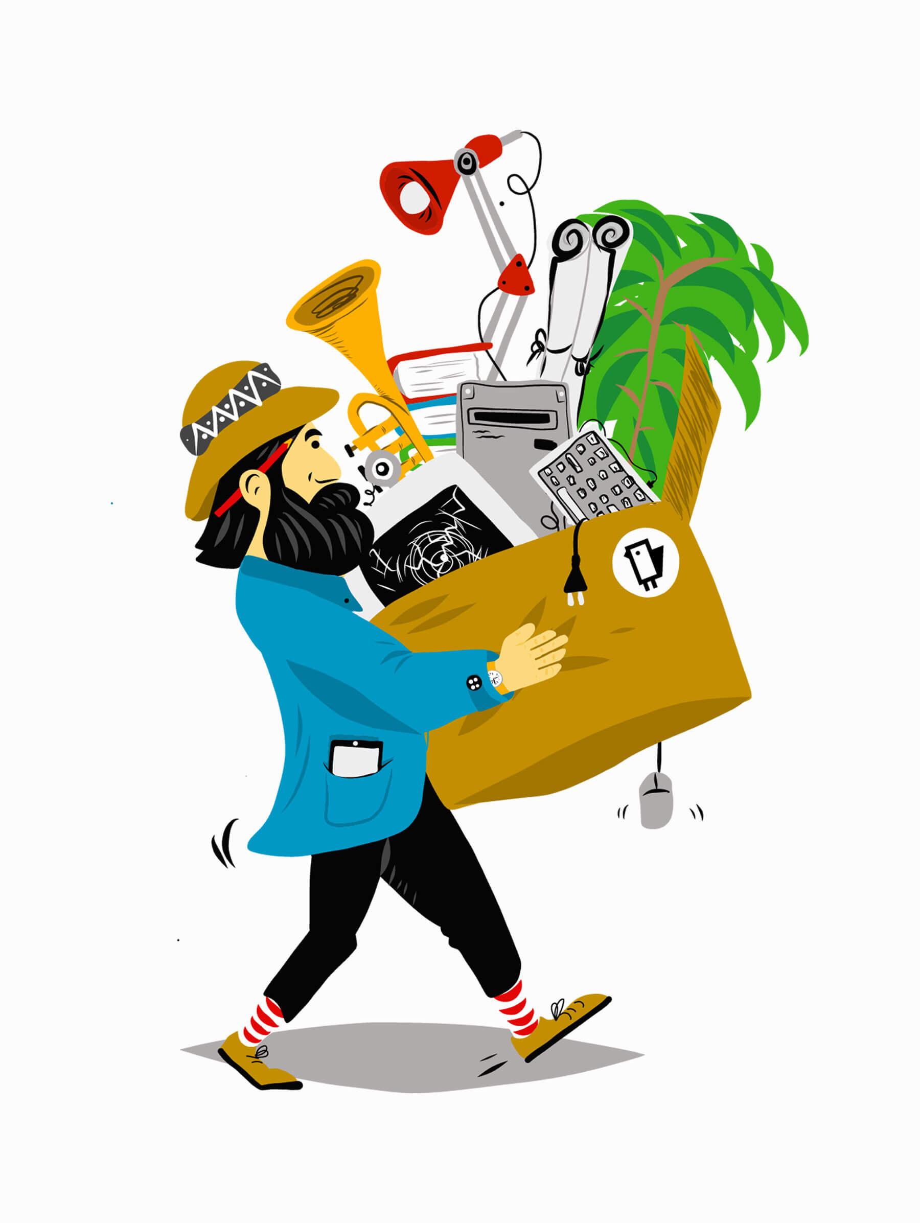 Illustration Services Schweizer IT Unternehmen